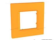 Рамка 1 пост оранжевая Schneider Electric/Unica-Quadro MGU4.702.29