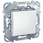 Переключатель одноклавишный промежуточный, в рамку белый Schneider Electric/Unica MGU5.205.18ZD
