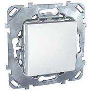 Выключатель одноклавишный в рамку белый Schneider Electric/Unica MGU5.201.18ZD