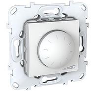 Светорегулятор (диммер) поворотный 400W в рамку белый Schneider Electric/Unica MGU5.511.18ZD