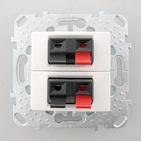 Розетка двойная аудио белая Schneider Electric/Unica MGU5.8787.18ZD