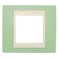 Рамка 1 пост зеленое яблоко/бежевый Schneider Electric/Unica-Хамелеон MGU6.002.563