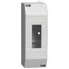 2 модуля Бокс настенного монтажа ЩРн-П-2 IP30 пластиковый белый без двери IEK MKP31-N-02-30-252