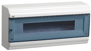 12 модулей Бокс навесной  ЩРн-П-12 пластиковый прозрачная дверь IP41 PRIME (MKP82-N-12-41-10)