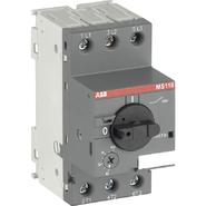 ABB MS116 1,6-2,5A Выключатель автоматический для защиты электродвигателей 1.6-2.5А MS116 управление ручкой (1SAM250000R1007)
