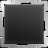 Выключатель 1 кл, WL08-SW-1G - черный матовый, Werkel