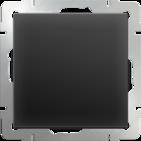 Выключатель проходной 1 кл, WL08-SW-1G-2W - черный матовый, Werkel