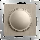 Светорегулятор, WL10-DM600 - шампань рифленый, Werkel