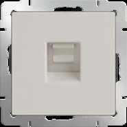 Werkel Розетка Ethernet RJ-45 (слоновая кость)