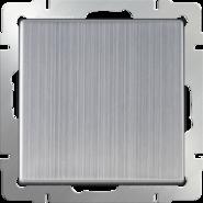 Выключатель 1 кл, WL02-SW-1G - глянцевый никель, Werkel