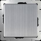 Выключатель проходной, 1 кл, WL02-SW-1G-2W - глянцевый никель, Werkel