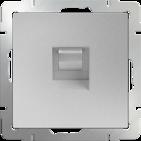 Werkel Розетка Ethernet RJ-45 (серебряный)