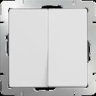 Выключатель 2 кл, WL01-SW-2G - белый, Werkel
