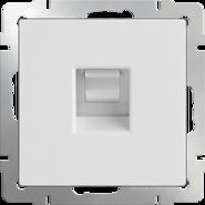 Розетка компьютерная RJ-45, WL01-RJ-45 - белый, Werkel