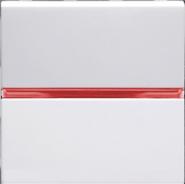 Переключатель промежуточный, 1 кл - альпийский белый, ABB Zenit (N2210 BL)