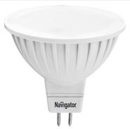 Лампа светодиодная (белый нейтральный), 7вт 230в GU5.3 3000K, Navigator (94244 NLL-MR16)