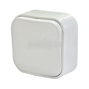 Выключатель 1-но клавишный - 10А - белый