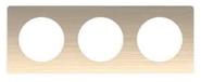 Рамка 3 поста полированная бронза Schneider Electric Odace (S52P806L)