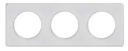Рамка 3 поста прозрачная белая Schneider Electric Odace (S52P806R)
