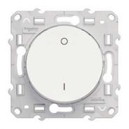 Выключатель одноклавишный 2-х полюсной Schneider Electric Odace белый (S52R262)