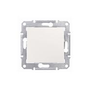 Sedna Выключатель одноклавишный в рамку IP44 бежевый