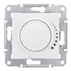 Светорегулятор поворотный, диммер - 325 ВТ, белый Schneider Electric Sedna