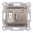 Термостат теплый пол, титан Schneider Electric Sedna