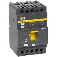 16А 25кА Выключатель автоматический трехполюсный ВА88-32 РЭ500А IEK (SVA10-3-0016)