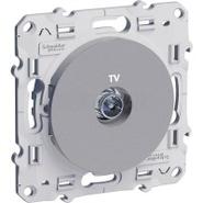 Розетка телевизионная (TV), алюминий Schneider Electric Odace (S53R445)