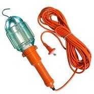 Переносной светильник с выключателем, шнур 15м, TDM (0306-008)