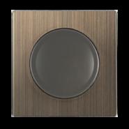 Накладка для светорегулятора WL12-DM-CP - бронзовый, Werkel