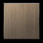 Клавиша для выключателя 1 кл, WL12-SW-1G-CP - бронзовый, Werkel