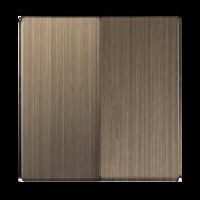 Набор клавиш для выключателя 2 кл, WL12-SW-2G-CP - бронзовый, Werkel