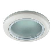 Светильник белый, влагозащищённый IP44, MR16, 50W, ЭРА WR1 WH