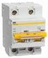 Выключатель автоматический двухполюсный 10А С ВА 47-100 10кА IEK (MVA40-2-010-C)