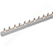 Шина-гребенка соедин. типа PIN (штырь) 2Р 63А, 1 метр