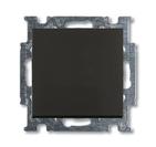 Выключатель 1 кл. перекрёстный, черный, ABB Basic 55 (1012-0-2182)
