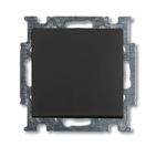 Выключатель 1 кл., черный, ABB Basic 55 (1012-0-2174)