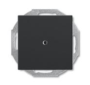 Заглушка с суппортом, черный, ABB Basic 55 (1715-0-0315)