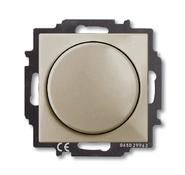 Светорегулятор поворотно-нажимной 60-400 Вт, шампань, ABB Basic 55 (6515-0-0845)