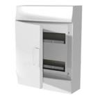 Бокс 24 модуля без клемм, навесной IP41, белый, непрозрачная дверь, ABB Mistral W (1SPE007717F0510)