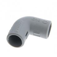 Уголок для трубы, 16мм соединительный крутозамкнутый разъемный, IP40 - LUXEL