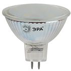 Лампа светодиодная (теплая), MR16-4W 2700 K, ЭРА (MR16-4w-827-GU5.3)