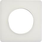 Рамка 1 пост прозрачная белая Schneider Electric Odace (S52P802R)