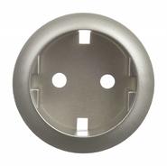 Legrand Celiane Розетка электрическая с заземлением с защитными шторками (титан)