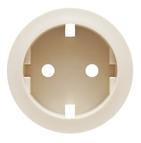 Legrand Celiane Розетка электрическая с заземлением с защитными шторками, безвинтовые зажимы (слоновая кость)