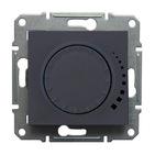Светорегулятор поворотно-нажимной 60-500Вт., графит Schneider Electric Sedna