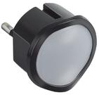 Ночник со светорегулятором, черный - Legrand
