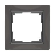 Werkel WL03-Frame-01 Рамка на 1 пост (серо-коричневый)