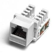 Механизм розетки компьютерной RJ-45, кат.5е, UTP модуль (8 контакта) LK45